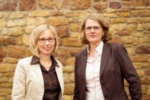Nadja Alber und Christiane Kuntz-Mayr